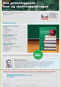 Grunnleggende skriveopplæring